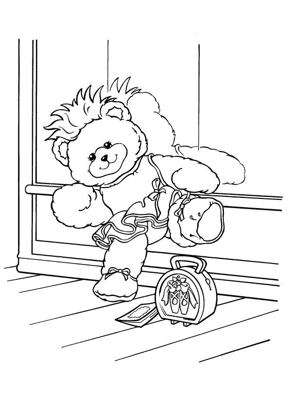 tap dance coloring pages - photo#25